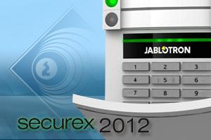 Polska prezentacja systemu alarmowego JA-100 JABLOTRON ALARMS na SECUREX 2012