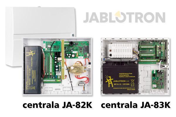 Centrale alarmowe OASiS JA-82K i JA-83K